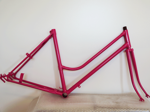 Downs Powdercoating Bicycle Frame