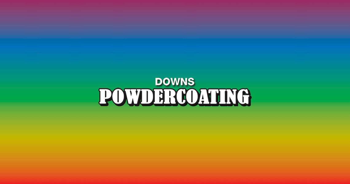 Downs Powdercoating Logo